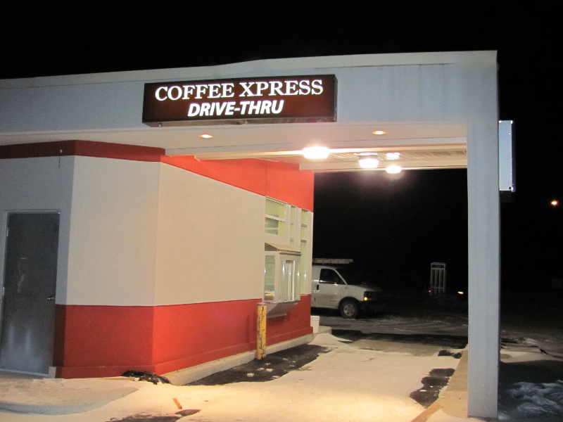 Exterior Signage & Canopy Pot Lights Installation|Adjala-20