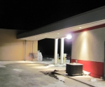 Exterior Canopy Pot Lights Installation|Adjala-19