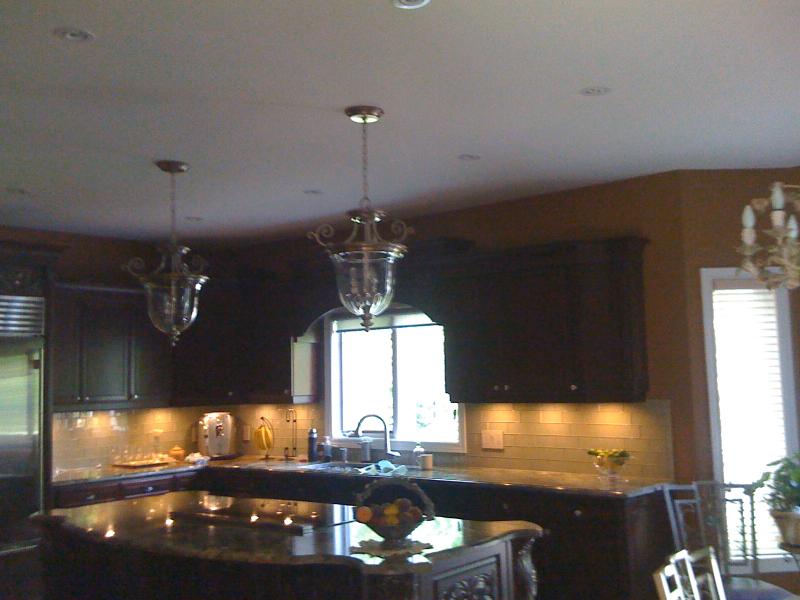 New Kitchen Pot Lighting & Pendants-whitby-5