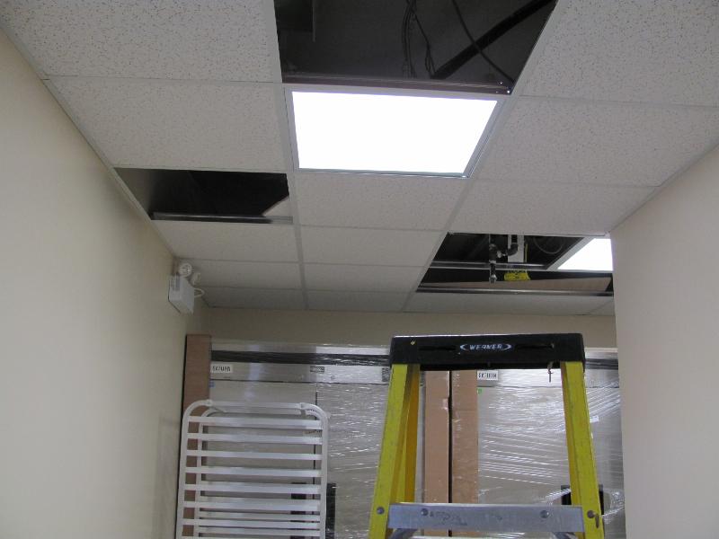 Fluorescent Fixture Installation|Adjala-13