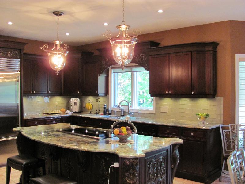 New Kitchen Pot Lighting & Pendants-whitby-10