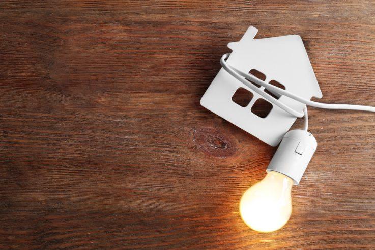 House with Light Bulb 1